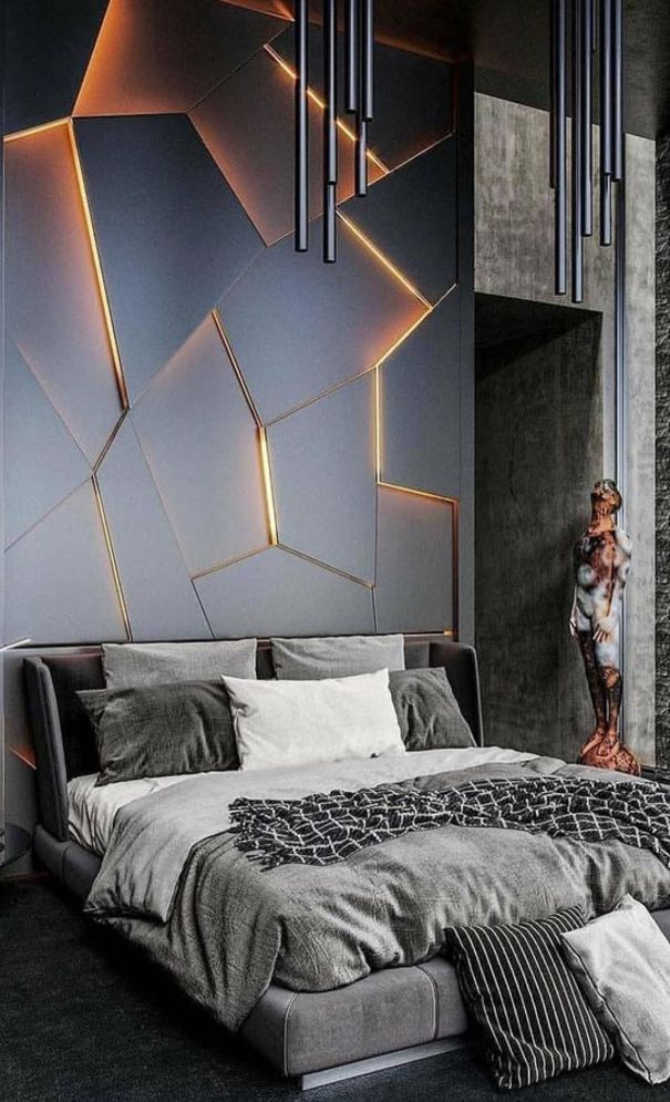 New Trend and Modern Bedroom Design Ideas for 2020 - Page 40 ...