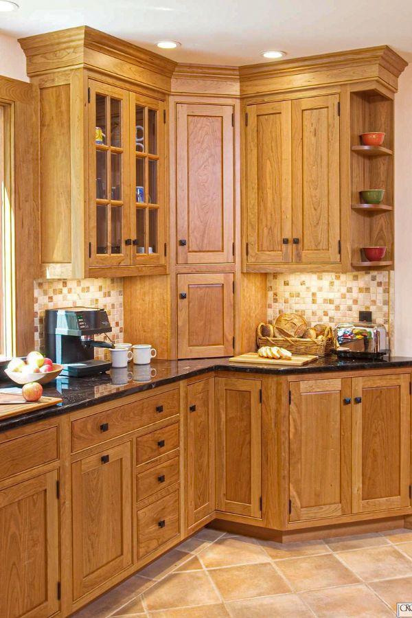 corner kitchen cabinets ideas that optimize your kitchen