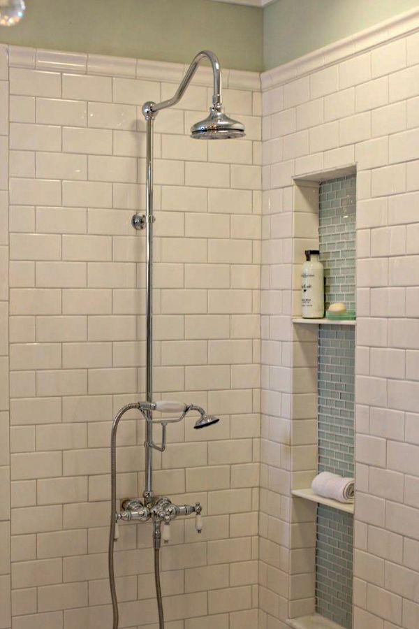 45 best modern bathroom subway tile shower walls design