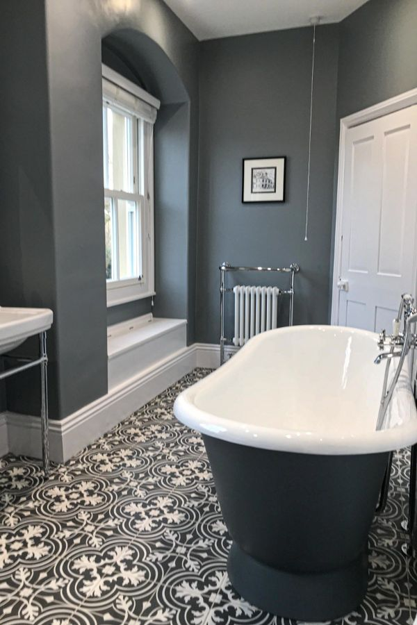 55-great-grey-bathroom-tiles-design-ideas-for-2020