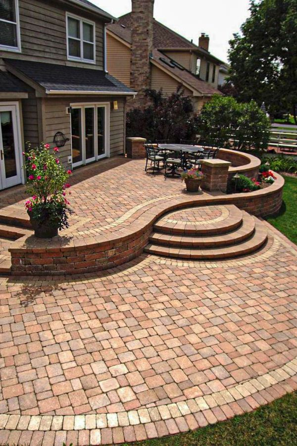 Top Natural Paving Stones Ideas for Patio Designs - Page ...